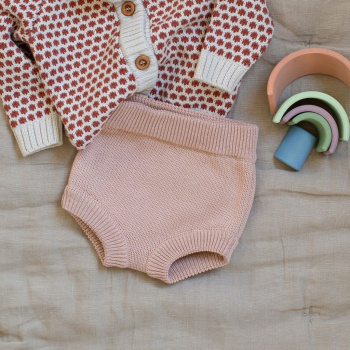 Cotton bloomers peach