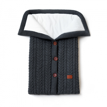 Knitted envelope New Classic Graphite